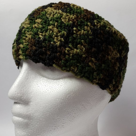 Camouflage Head Band Ear Warmer